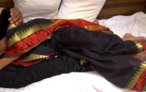 Beautiful Indian Randi Fucked in Black Saree