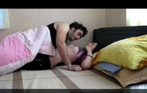 Innocent sleeping bhabhi fucked hard by muslim boyfriend in hotel