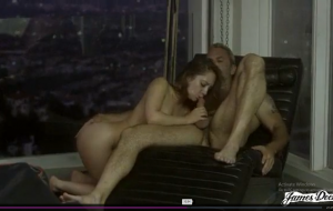 TROPHY WIFE REMY LACROIX ANALLY PUNISHED IN FRONT OF HER HUSBAND'S SECRETARY .