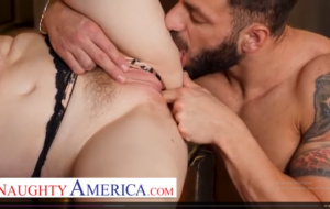 Naughty America – Bunny Colby orders her some delicious cock.