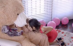 The Big Valentine Teddy Bear With Inside