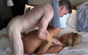Big Dick London Ryan FUCKS Big Titty Teen Marie Jacob