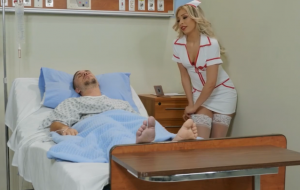 Knobbing The Naughty Nurse