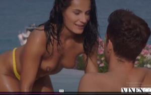 VIXEN A perfect view for unforgettable passionate sex