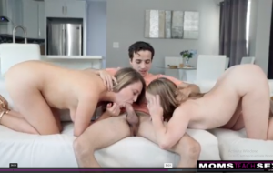 -His Dick Is Huge I Just Want To See It- Tough Love Threesome Fuck S12-E
