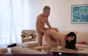 Dane Jones Sultry Indian girl Marina Maya passionate sex in red lingerie