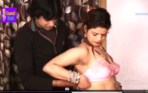 Indian Sexy Bhaviji Miya Khalifa Fucked at home by her devar