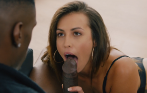 Babe gives all her charms to a black producer