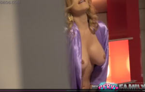 Step Son Gropes Lonely MILF's Big Tits