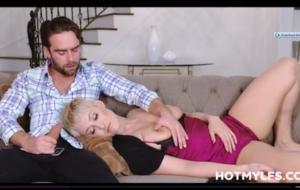 Sleeping Big Tits PAWG Blonde MILF Step Mom