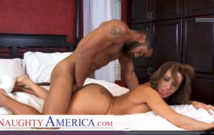 Naughty America Richelle Ryan seals the deal with a creampie.