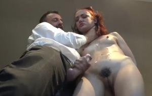 Skinny sub whore rough treatment