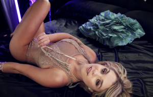 Beautiful blonde shares all of herself with a lover