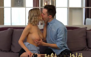 Game Of Chess Leads To Sensual Sex For Teen And Bf