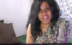 Perfect Desi MILF Horny Lily Talking Dirty