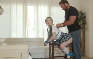 Teen Schoolgirl Aria Is A Knotty Step Sister