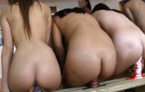Training These Lesbian Sluts