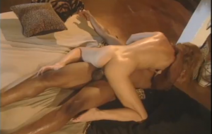 🐇 An athletic black lover is enjoying Phyllisha Anne's white anal hole