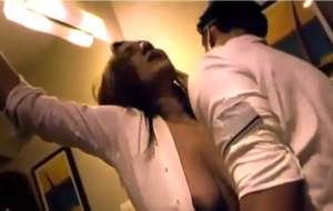 Hot Indian milf make relationship with office boy
