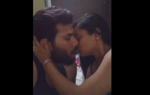 Hot And Horny Amateur Couple Making Kissing Video Got Viral