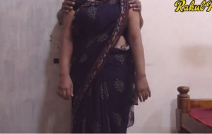 Indian big boobie neighbours wifey porno in saree