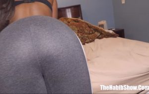Big Butt Black and Indian Mix Virgin Teen Gets Ready For Sex