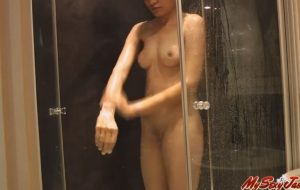 Indian College Girl Jasmine Mathur Undressing and Taking bath