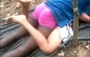 Indian steamy youthfull duo dating n porking school immature in public park