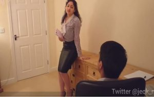 Candy Samira – A Young Married Indian Secretary Is Molested