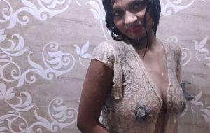 Amateur Hot Indian Teen Sarika Shower Erotica