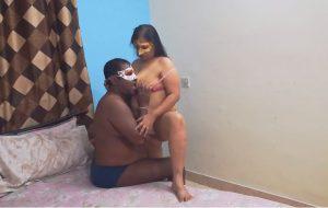 Chubby Indian Aunty Shanaya In Couple Porn Video