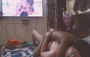 Desi Girl Erotic Sex While Watching Porn Video