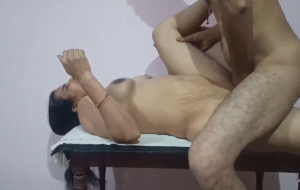 Mature Indian Aunty Sex Impregnated By Husband
