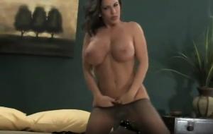Busty big tits hot babe solo sex hd