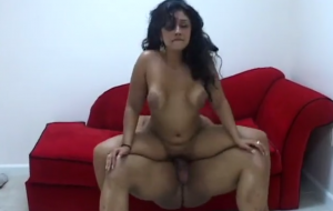 Curvaceous Indian Girl Has A Dark Stallion Drilling Her Juicy Snatch