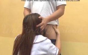 PT teacher banging 18 years old school girl