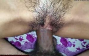 Hairy Indian pussy of my hot sister